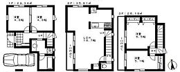 建物面積91.33平米、建物価格1690万円(税込)