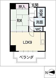 セキスイハイム徳川レジデンス[8階]の間取り