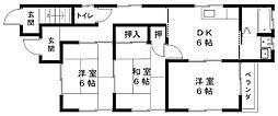 葵ハウス[1階]の間取り