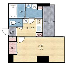 Luxe本町[6階]の間取り