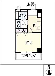 グレース小坂本町[2階]の間取り