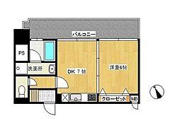 コーラルファーム[3階]の間取り