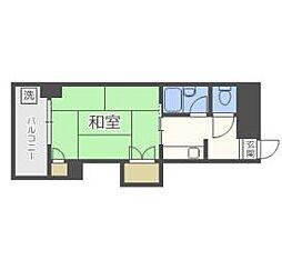 グレイスフル中崎[3階]の間取り