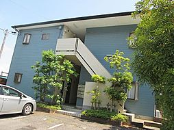 千葉県柏市逆井の賃貸アパートの外観