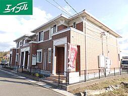 三重県津市稲葉町の賃貸アパートの外観