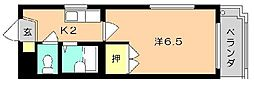 福岡県北九州市門司区柳町1の賃貸マンションの間取り