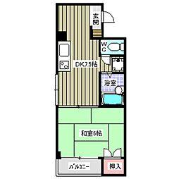 今福2丁目マンション[3階]の間取り