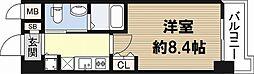 フローライト日本橋駅前[9階]の間取り