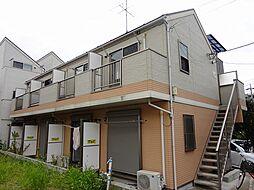 神奈川県横浜市港南区上永谷5の賃貸アパートの外観