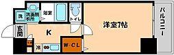 アドバンス大阪城アンジュ[8階]の間取り