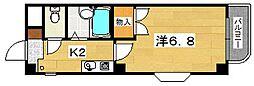 大阪府枚方市北船橋町の賃貸マンションの間取り