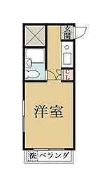 ソレイユIII[305号室]の間取り