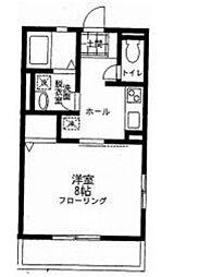 ペルシェ辻堂[1階]の間取り