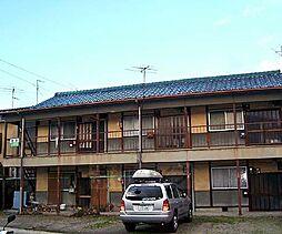 京都府京都市右京区梅津北浦町の賃貸アパートの外観