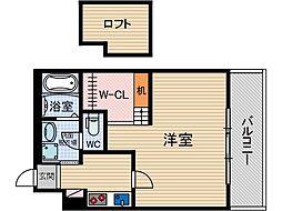 メゾンプレジール[3階]の間取り