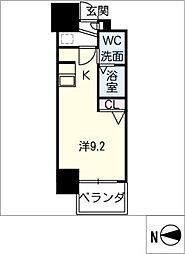 S−RESIDENCE千種[6階]の間取り
