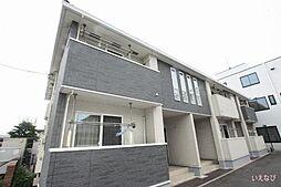 広島県福山市神辺町大字新湯野の賃貸アパートの外観