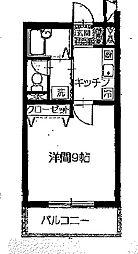 レイクサイドパーク[1階]の間取り