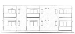 仮)東Uハイツ[2階]の外観