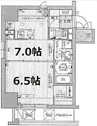 エステムコート心斎橋EASTIIIエクシード[3階]の間取り