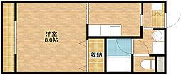 オリオンアパートメント[301号室]の間取り