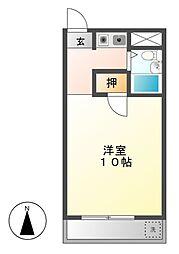 SIMON茶屋が坂(旧シャトー赤坂)[4階]の間取り