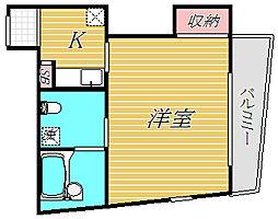 アートヒルズ[2階]の間取り