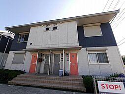 神奈川県藤沢市柄沢の賃貸アパートの外観