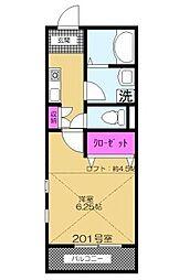 MOA9[2階]の間取り