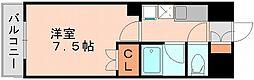 リファレンス県庁口[11階]の間取り