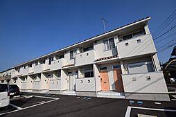 栃木県下都賀郡壬生町至宝3の賃貸アパートの外観