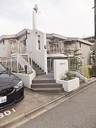 愛知県名古屋市千種区春里町2丁目の賃貸マンションの外観