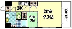 第21やたがいビル[7階]の間取り