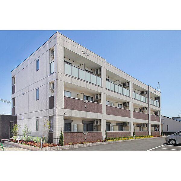 大阪府茨木市丑寅の賃貸マンションの外観
