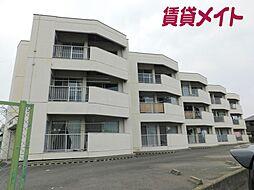 鈴与マンション[1階]の外観