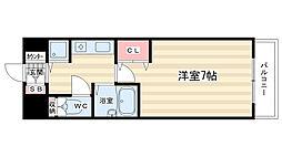 サムティ京都祇園[6階]の間取り