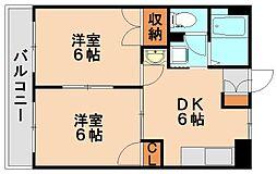 サンビレッジ平田台I[2階]の間取り