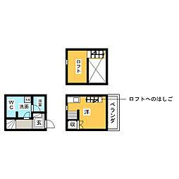 Casa Grigio[2階]の間取り