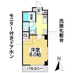 愛知県名古屋市南区鶴里町3の賃貸マンションの間取り