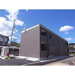 近鉄奈良線 東生駒駅 バス15分 さつき台住宅下車 徒歩6分の賃貸アパート