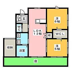 [一戸建] 茨城県水戸市石川2丁目 の賃貸【茨城県 / 水戸市】の間取り