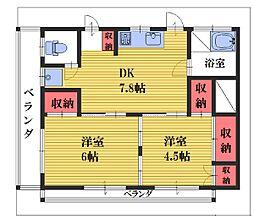 [一戸建] 埼玉県さいたま市浦和区領家3丁目 の賃貸【/】の間取り