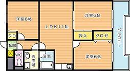 第4晴和ビル[7階]の間取り