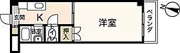 広島県広島市西区己斐中1丁目の賃貸マンションの間取り