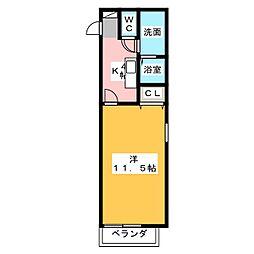 フィオーレ関田[2階]の間取り