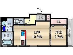 さくら2番館[2階]の間取り