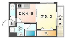 第3せいわ[4階]の間取り