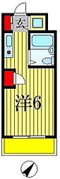 クレストパレス松戸[2階]の間取り