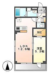 ヴェルム東別院[3階]の間取り