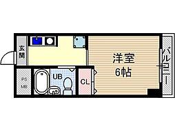 ロイヤルミサワ[3階]の間取り